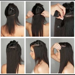 Accessories - CLIP-INS  STRAIGHT HAIR